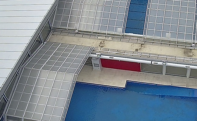 Techos para piletas corredizos automaticos con aislacion termica
