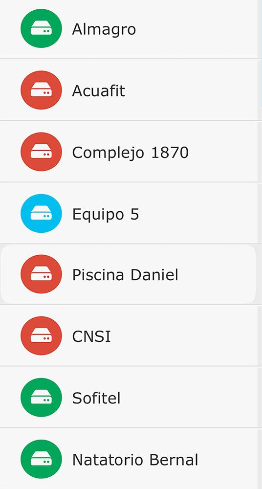 Centro de Control - Cerramientos Móviles - Soluciones para piletas - App
